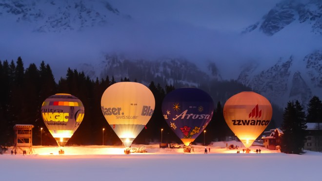 Hot Air Balloon Alpine Week Arosa-1100305-2