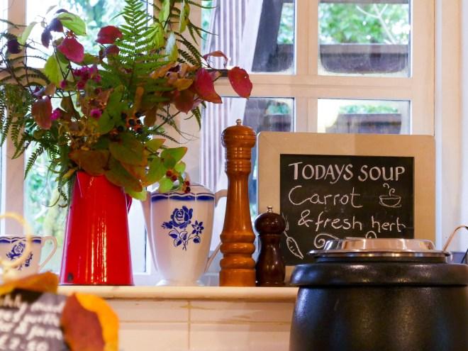 Tea Rooms - The Burren Perfumery Carron Co. Clare Ireland