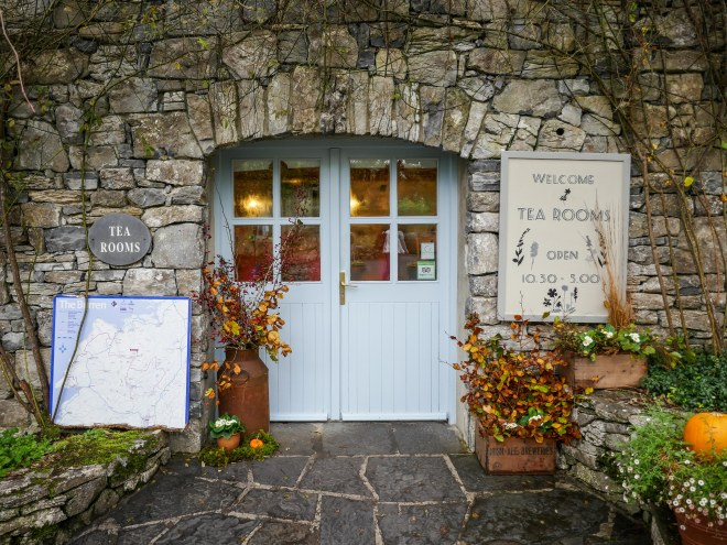 Entrance The Burren Perfumery Carron Co. Clare Ireland