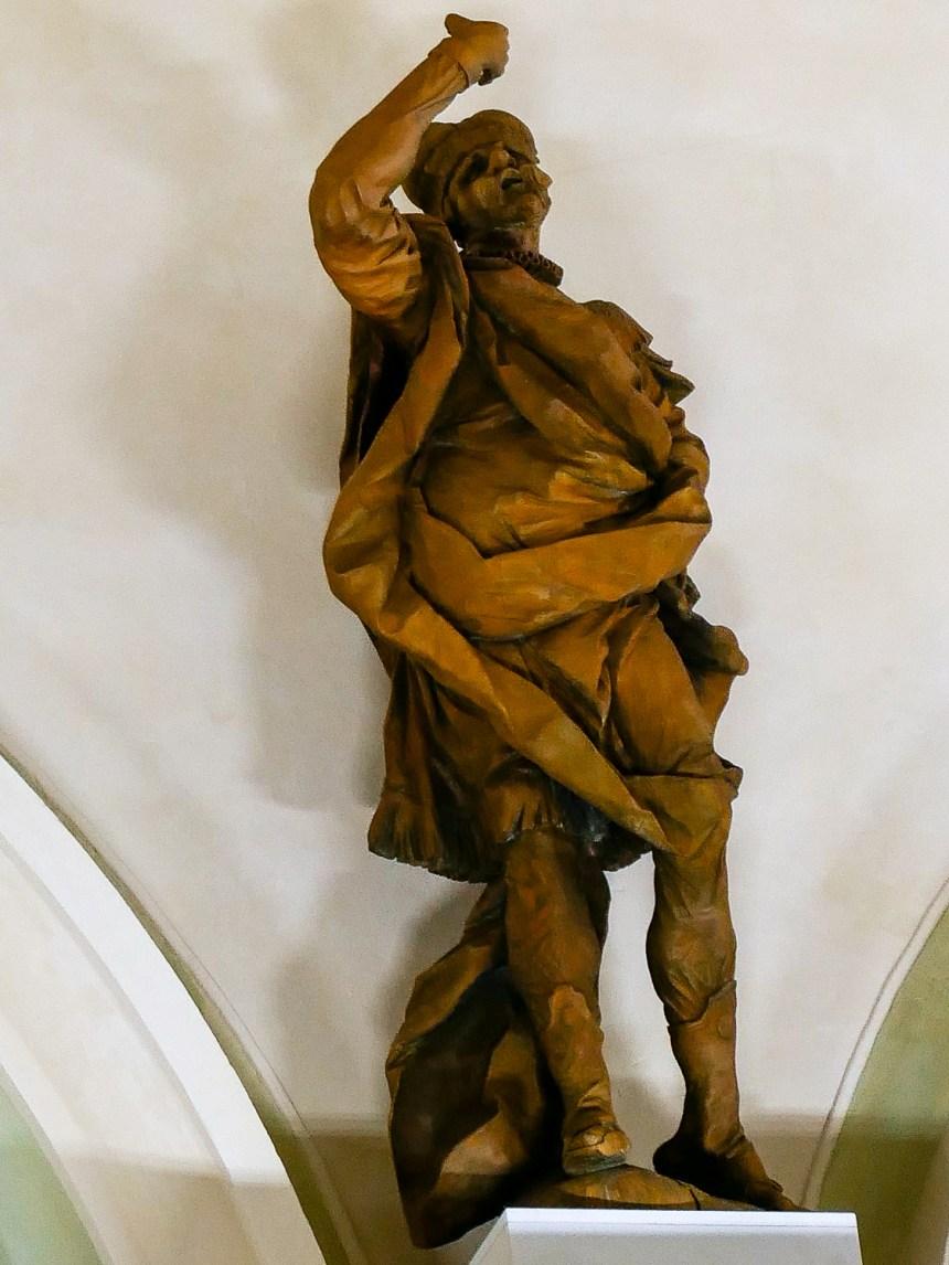 Skulptur Marstall Schloss und Kloster Salem innen