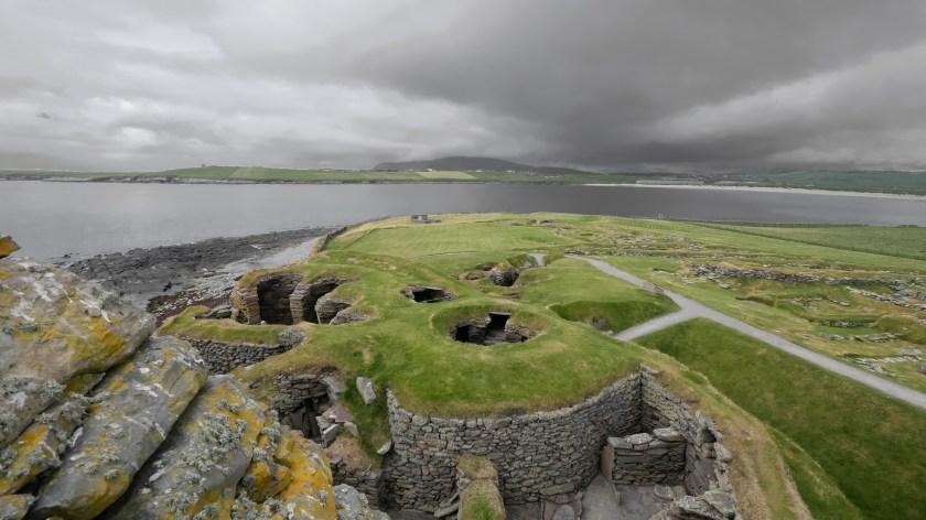 Jarslhof Broch Shetland Scotland Schottland