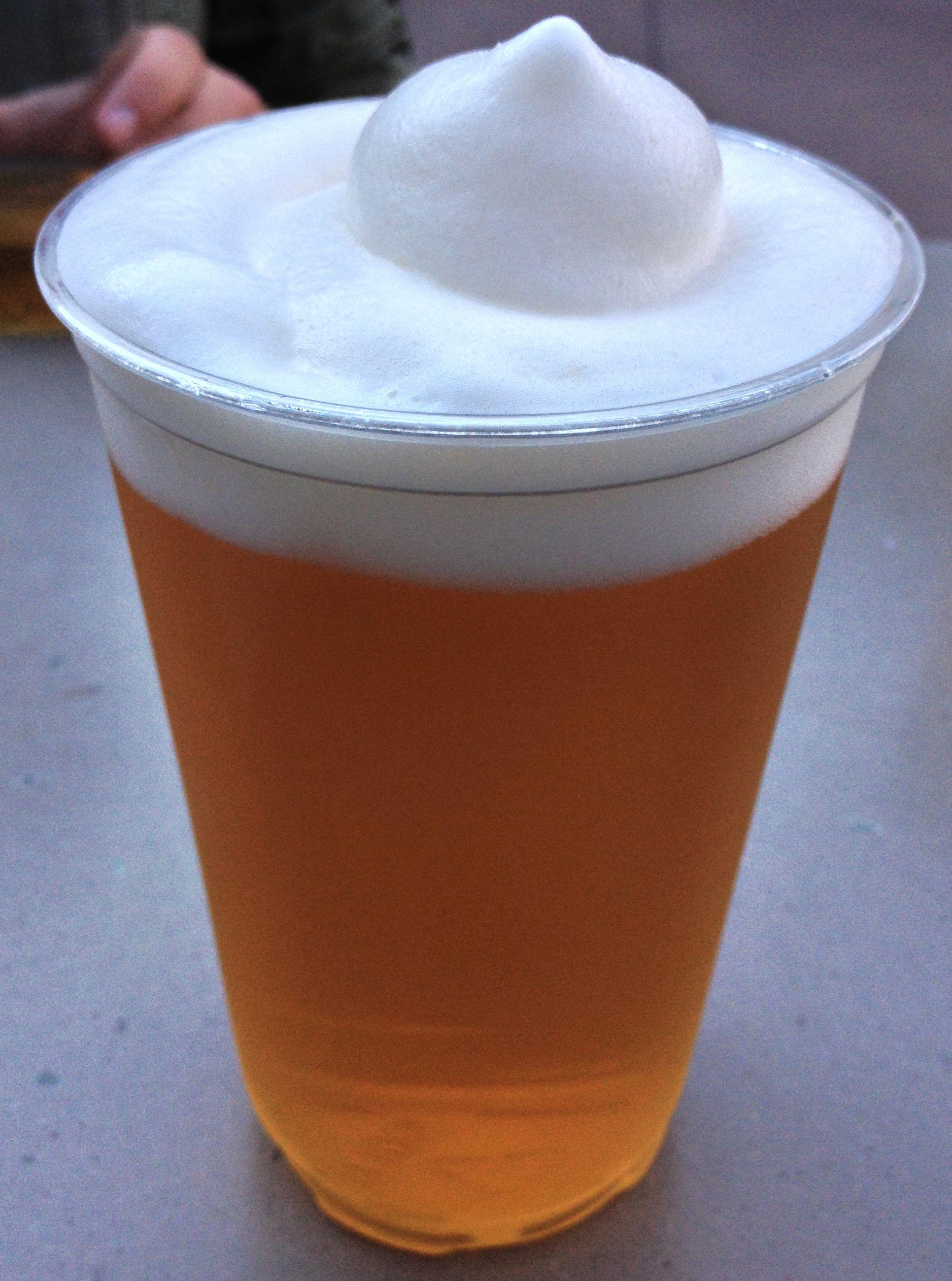 Frozen Kirin in Japan Pavilion  Beers and Ears