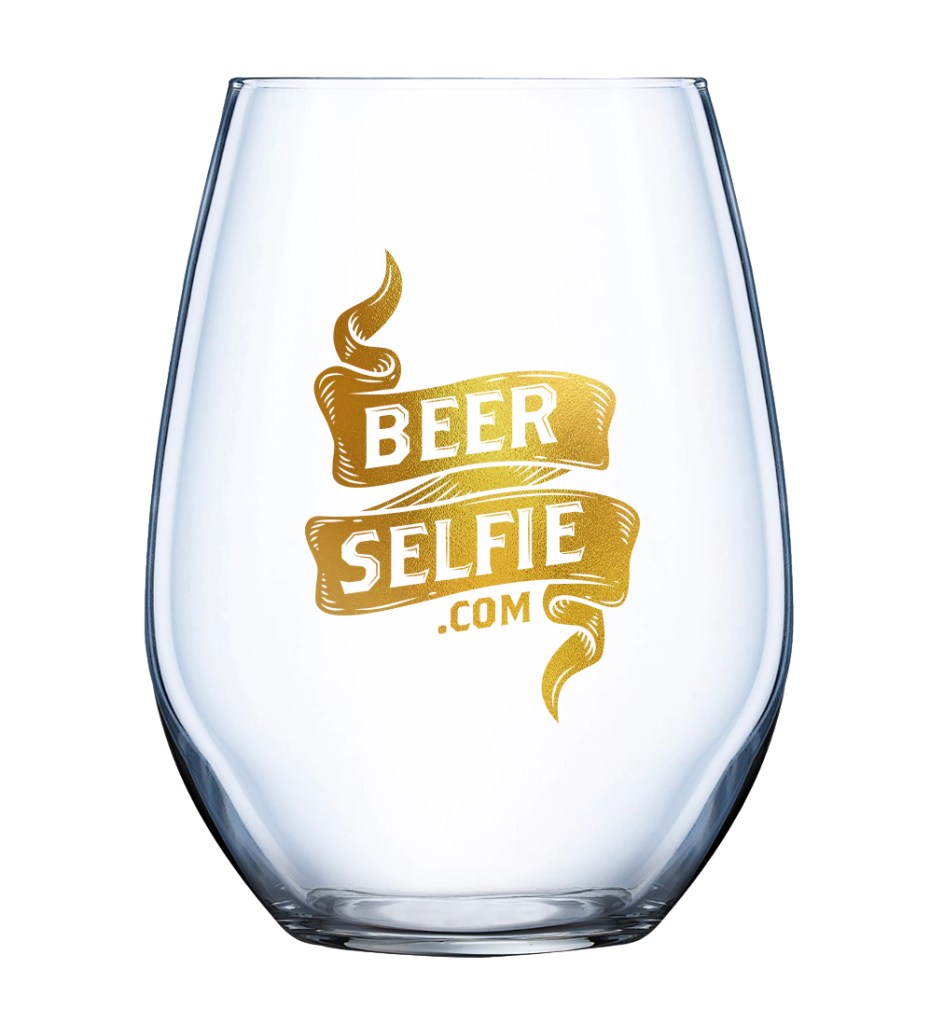 BeerSelfie.com Glass