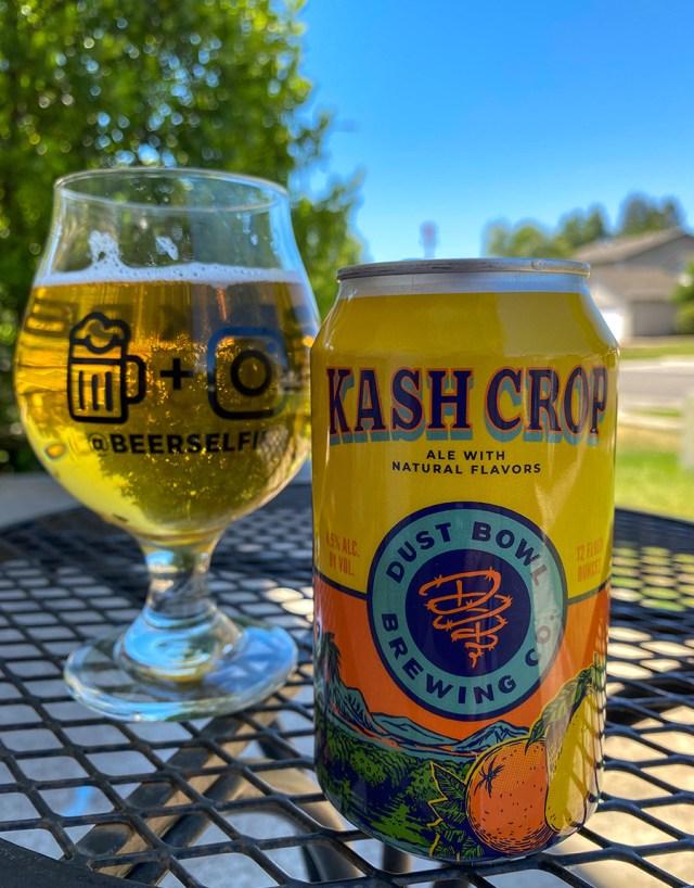 Kash Crop in @beerselfie glass