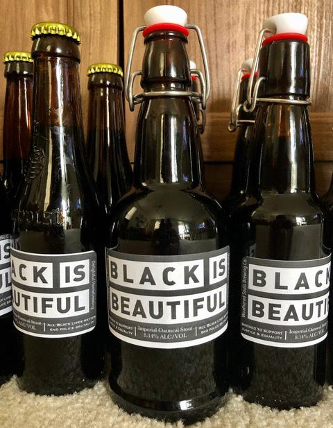 homebrewheero black is beautiful beer