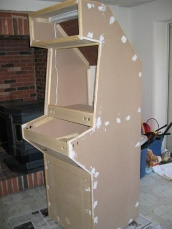 Docs MAME Cabinet  How to build a cabinet