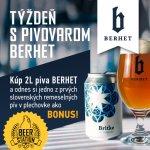 Týždeň s pivovarom BERHET
