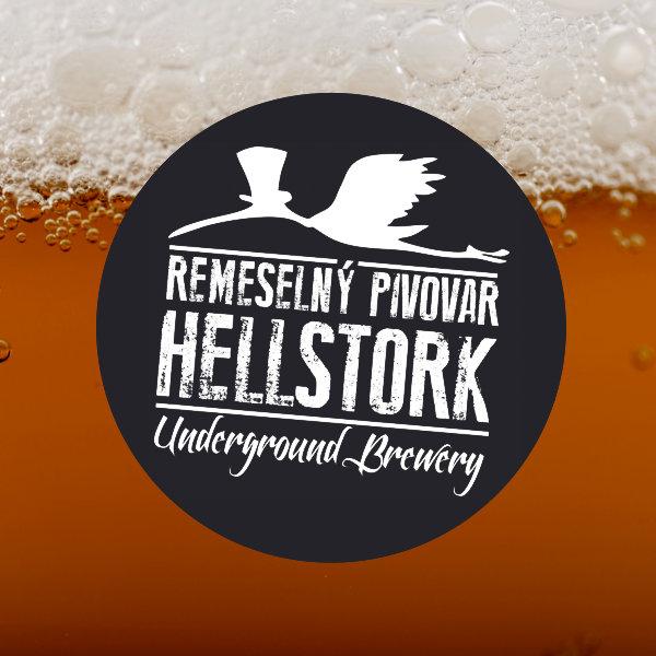 Ancikrist 15° (Hellstork); remeslne pivo; beer; craft beer; zive pivo; capovane pivo; pivo so sebou; beer to go; IPA