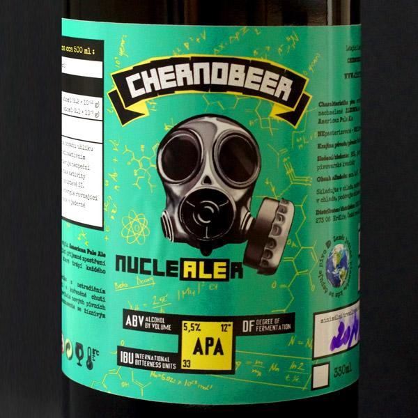 Pivovar Chernobeer APA Nuclealer 12 Remeselne pivo