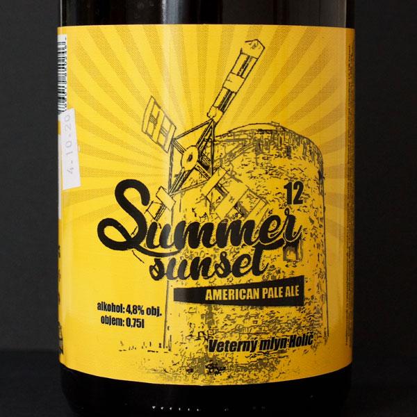 WYWAR; Summer sunset; Craft Beer; Remeselné Pivo; Živé pivo; Beer Station; Fľaškové pivo; APA;