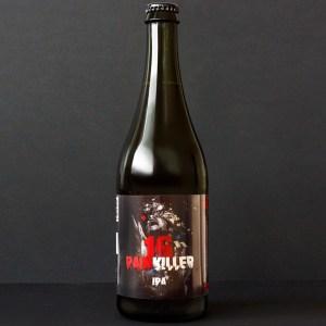 WYWAR; Painkiller 16°; Craft Beer; Remeselné Pivo; Živé pivo; Beer Station; Fľaškové pivo; IPA;