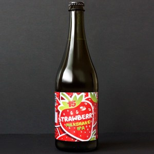 WYWAR; Strawberry Milkshake IPA 15°; Craft Beer; Remeselné Pivo; Živé pivo; Beer Station; Fľaškové pivo; IPA; Distribúcia piva