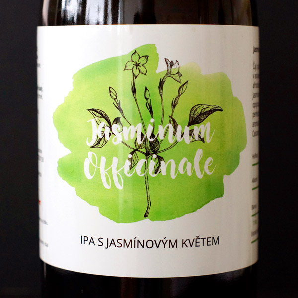 Pivečka; Jasminum Officinale 14°; Craft Beer; Remeselné Pivo; Živé pivo; Beer Station; Fľaškové pivo; IPA;