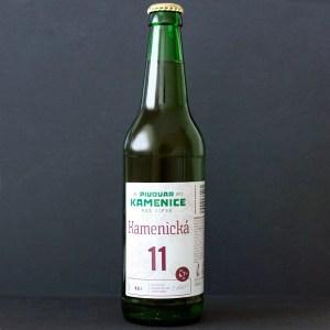Kamenice; Kamenicka 11°; Craft Beer; Remeselné Pivo; Živé pivo; Beer Station; Fľaškové pivo; ležiak; pivovar Kamenice nad Lipou; pivo so sebou