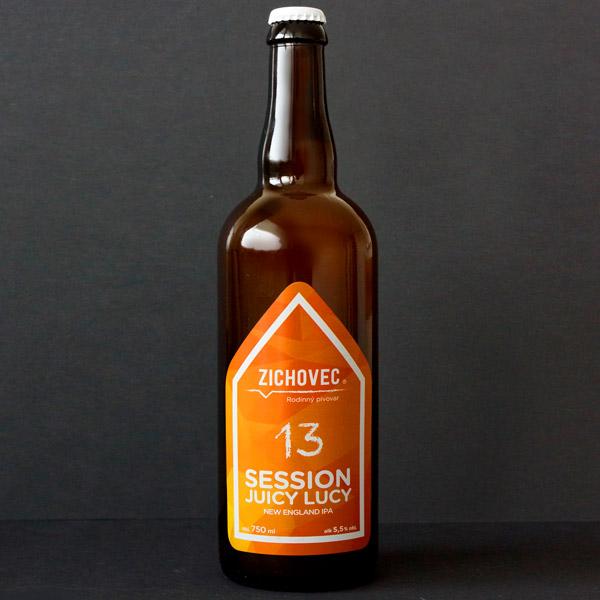 Zichovec; Session Juicy Lucy 13; Juicy Lucy Zichovec; NEIPA; Beer Station; pivo e-shop; remeselné pivo; remeselný pivovar; craft beer Bratislava; živé pivo