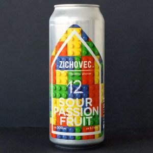 SOUR Passion Fruit 12; Zichovec plechovka; Zichovec; NEIPA; Beer Station; pivo e-shop; remeselné pivo; remeselný pivovar; craft beer Bratislava; živé pivo; Sour