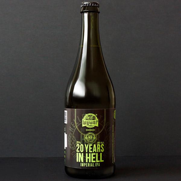 WYWAR; 20 Years in Hell; Craft Beer; Remeselné Pivo; Živé pivo; Beer Station; Fľaškové pivo; IPA;