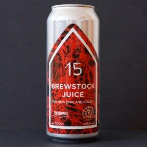 Brewstock Juice 15; Zichovec plechovka; Zichovec; Kolsch; Beer Station; pivo e-shop; remeselné pivo; remeselný pivovar; craft beer Bratislava; živé pivo; pivo