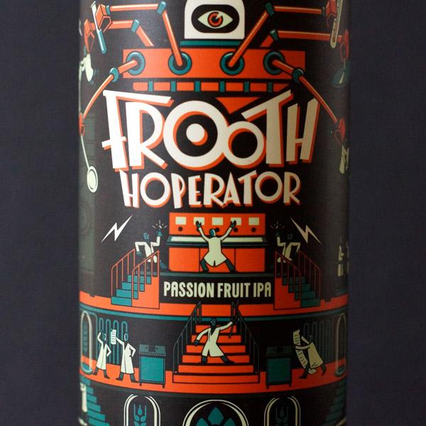 Frooth Hoperator; MAD Scientist; Maďarský pivovar; madarske pivo; NEIPA; pivo; Craft Beer v plechovke; remeselné pivo