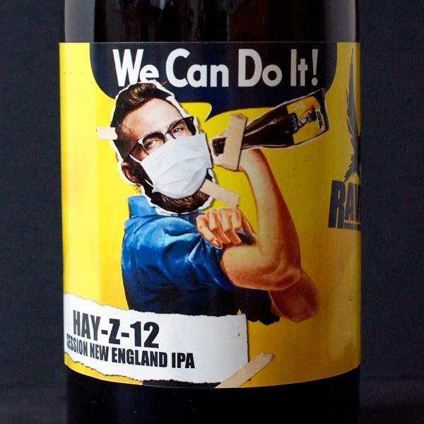 Raven; Hay-Z-12; Session New England IPA; Beer Station; pivo e-shop; remeselné pivo; remeselný pivovar; craft beer Bratislava; živé pivo; pivo; Distribúcia piva; NEIPA