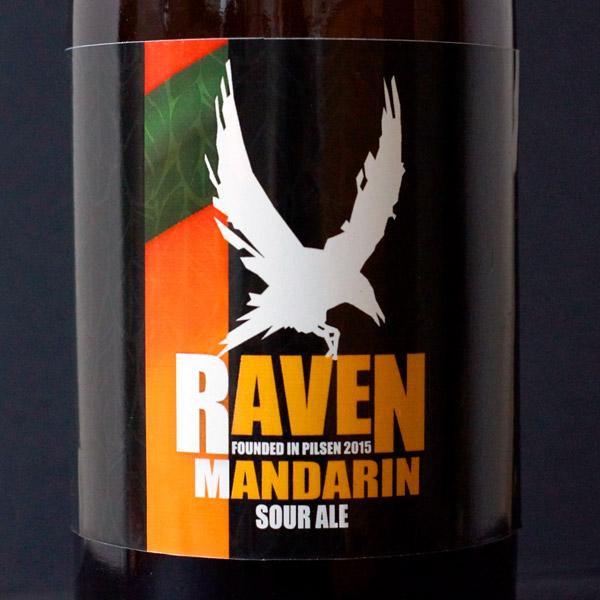Raven; Mandarin 9; Sour Ale; Beer Station; pivo e-shop; remeselné pivo; remeselný pivovar; craft beer Bratislava; živé pivo; pivo; Distribúcia piva; Berliner Weisse
