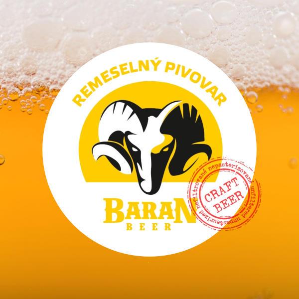 Remeselný pivovar; Beer Station; Rozvoz piva; Živé pivo; Remeselné pivo; Craft Beer; Ležiak B12; Baran; Pivo; Čapované pivo