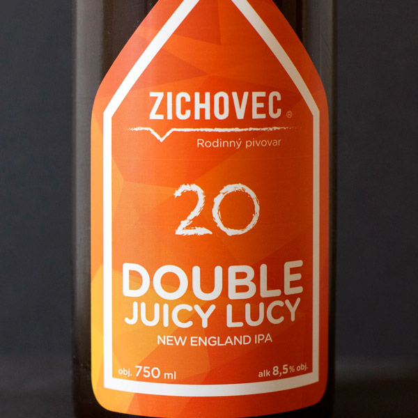 Zichovec; Double Juicy Lucy 20; Juicy Lucy Zichovec; Double NEIPA; Beer Station; pivo e-shop; remeselné pivo; remeselný pivovar; craft beer Bratislava; živé pivo; pod vrchnakom