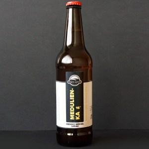 Čierný kameň; Medulienka 16°; Craft Beer; Remeselné Pivo; Živé pivo; Beer Station; Fľaškové pivo; medový ležiak; pivovar Čierny Kamen; pivo so sebou; ležiak