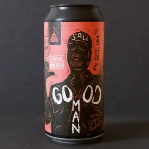 S'All Good Man; MAD Scientist; Maďarský pivovar; madarske pivo; Good Man Mad Scientist; pivo; Craft Beer v plechovke; remeselné pivo;