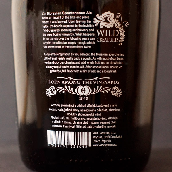 Wild Creatures; Fly With Me; Spontanne kvasenie; Beer Station; pivo e-shop; remeselné pivo; remeselný pivovar; craft beer; Salon piva; pivo; Distribúcia piva; pivovar; Barrel aged