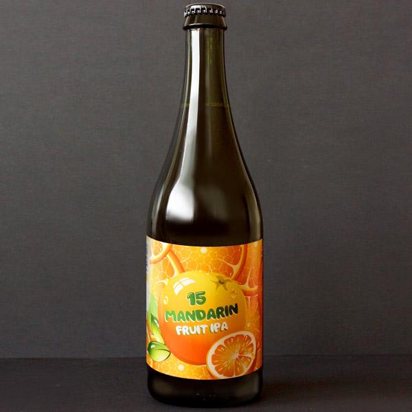 WYWAR; Mandarin Fruit IPA; Craft Beer; Remeselné Pivo; Živé pivo; Beer Station; Fľaškové pivo; IPA;