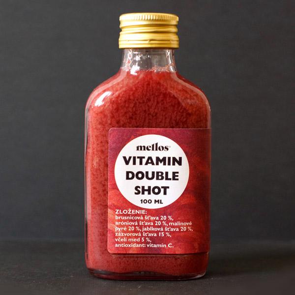 Mellos; Vitamin Double Shot; Ginger Shot; Slovensky vyrobok; Imunita; Opre; zazvorovy napoj