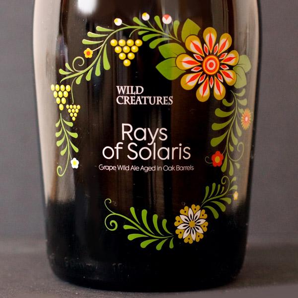 Wild Creatures; Rays of Solaris; Spontanne kvasenie; Beer Station; pivo e-shop; remeselné pivo; remeselný pivovar; craft beer; Salon piva; pivo; Distribúcia piva; pivovar; Barrel aged