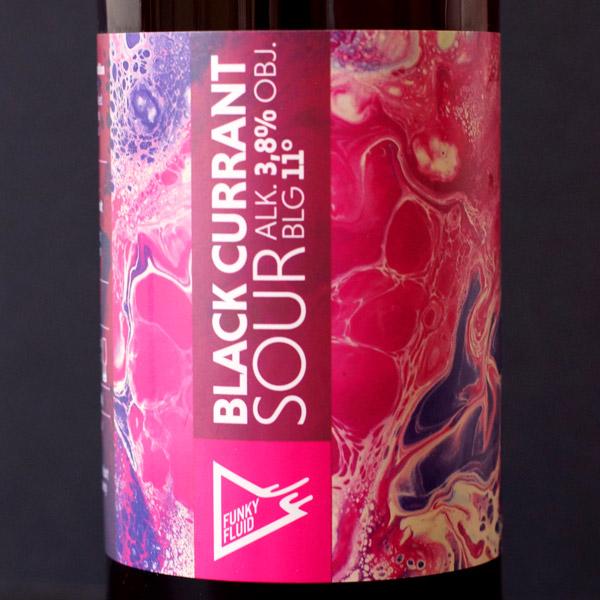 Funky Fluid; Black Currant; Craft Beer; Remeselné Pivo; Pod vrchnakom; Beer Station; fľaškové pivo; Sour Ale; poľský pivovar