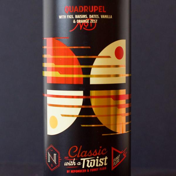 Funky Fluid; Classic with a Twist #1; Craft Beer; Remeselné Pivo; Salon piva; Beer Station; Plechovkové pivo; Quadrupel; Poľské pivo; Distribúcia piva