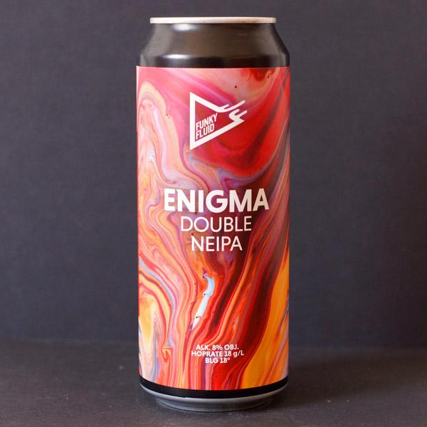 Funky Fluid; Enigma; Craft Beer; Remeselné Pivo; Pod vrchnakom; Beer Station; Plechovkové pivo; NEIPA; New England IPA; Distribúcia piva; Poľské pivo
