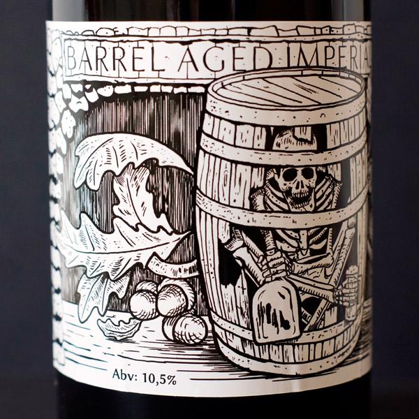 Raven; Hells Bells 21; Imperial Stout; Beer Station; pivo e-shop; remeselné pivo; remeselný pivovar; craft beer Bratislava; pivo; Distribúcia piva; pivovar Raven; Aged in whiskey Barrels