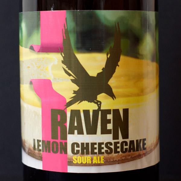 Raven; Lemon Cheesecake 14; Pastry Sour Ale; Beer Station; pivo e-shop; remeselné pivo; remeselný pivovar; craft beer Bratislava; Pod vrchnakom; pivo; Distribúcia piva;
