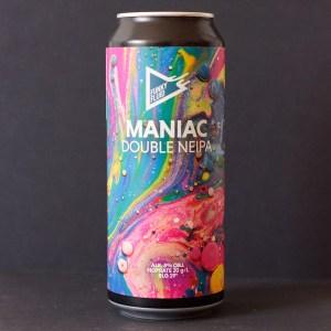 Funky Fluid; Maniac; Craft Beer; Remeselné Pivo; poľský pivovar; Beer Station; Plechovkové pivo; Double NEIPA; New Ingland IPA; Distribúcia piva; Poľské pivo