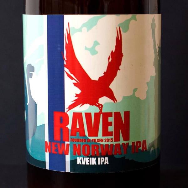 Raven; New Norway IPA 14; Kveik IPA; Beer Station; pivo e-shop; remeselné pivo; remeselný pivovar; craft beer Bratislava; Pod vrchnakom; pivo; Distribúcia piva; NEIPA