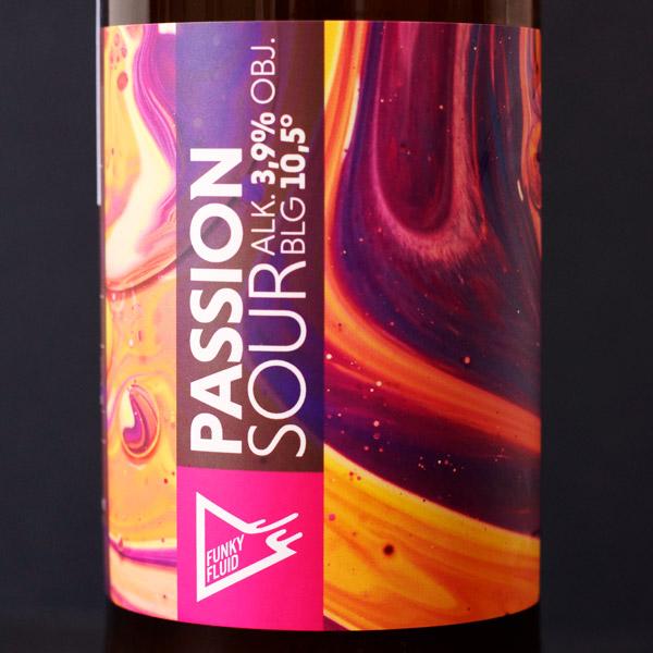 Funky Fluid; Passion Sour; Craft Beer; Remeselné Pivo; poľský pivovar; Beer Station; Fľaškové pivo; Sour Ale; Berliner Weisse; Distribúcia piva; Poľské pivo