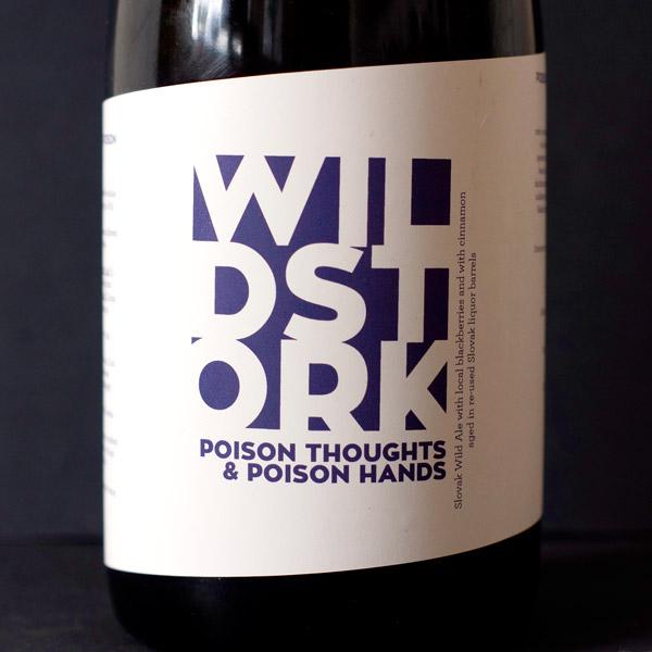 Poison Thoughts Poison Hands; Hellstork; Wildstork; Wild Ale; Barrel Aged; Beer Station; živé pivo; remeselné pivo; remeselný pivovar; remeselné pivo; spontánne kvasené piva