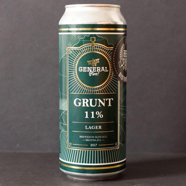 Pivovar General; Grunt 11; Lager; Beer Store; Craft Beer; ležiak