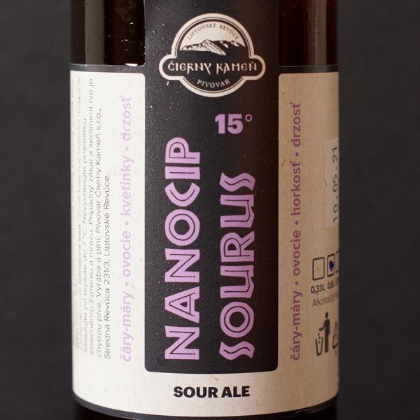 Pivovar Čierny Kameň; Nanočipsourus; pivo; Remeselné pivo; Craft Beer; Sour Ale; Pivoteka; Beer Station; pivo so sebou; pivo online obchod; pivo