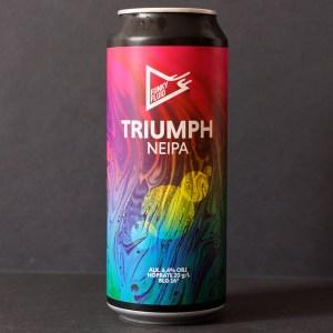 Funky Fluid; Triumph; Craft Beer; Remeselné Pivo; Pod vrchnakom; Beer Station; Plechovkové pivo; NEIPA; New England IPA; Distribúcia piva; Poľské pivo; Poľský pivovar