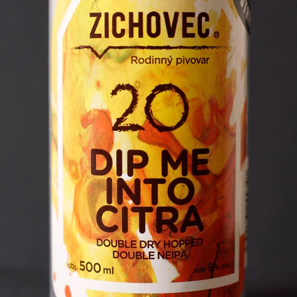 Dip Me Into Citra 20; Zichovec plechovka; Zichovec; Beer Station; pivo e-shop; remeselné pivo; remeselný pivovar; craft beer Bratislava; živé pivo; NEIPA; Double NEIPA; pivo