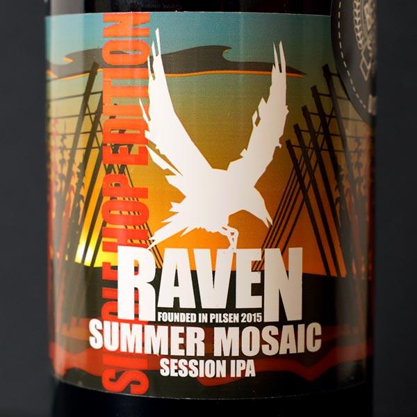 Raven; Summer Mosaic 11; Session IPA; Beer Station; pivo e-shop; remeselné pivo; remeselný pivovar; craft beer Bratislava; živé pivo; pivo; Distribúcia piva; pivovar Raven