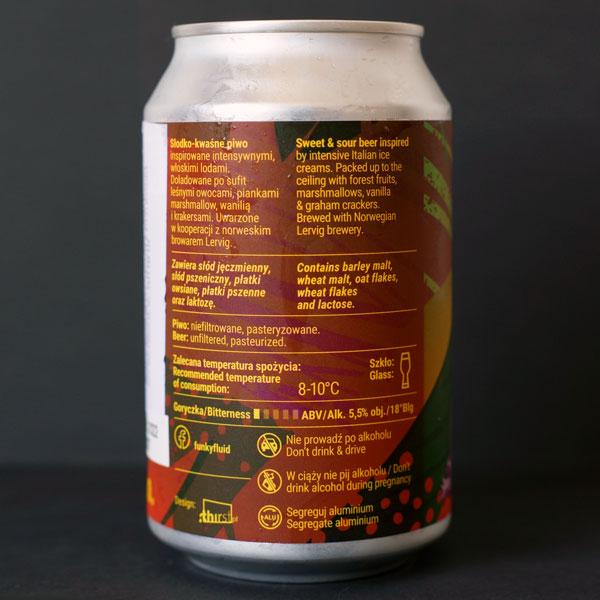 Funky Fluid; Gelato: Blotkake; Craft Beer; Remeselné Pivo; Pod vrchnakom; Beer Station; Plechovkové pivo; Ice Cream Sour; Distribúcia piva; Poľské pivo