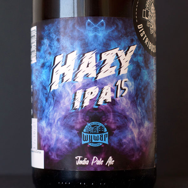 Hazy IPA 15; WYWAR; NEIPA; Remeselné pivo; Pivo so sebou; Pivoteka Bratislava; Distribúcia piva; pivo