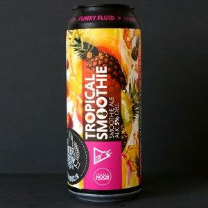 Funky Fluid; Tropical Smoothie Pineapple Mango Peach; Craft Beer; Remeselné Pivo; Pod vrchnakom; Beer Station; Plechovkové pivo; Smoothie Ale; Distribúcia piva; Poľské pivo